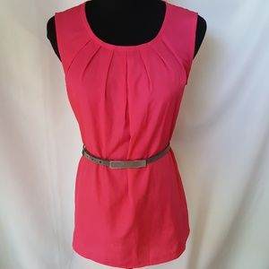 Merona pink top, size small